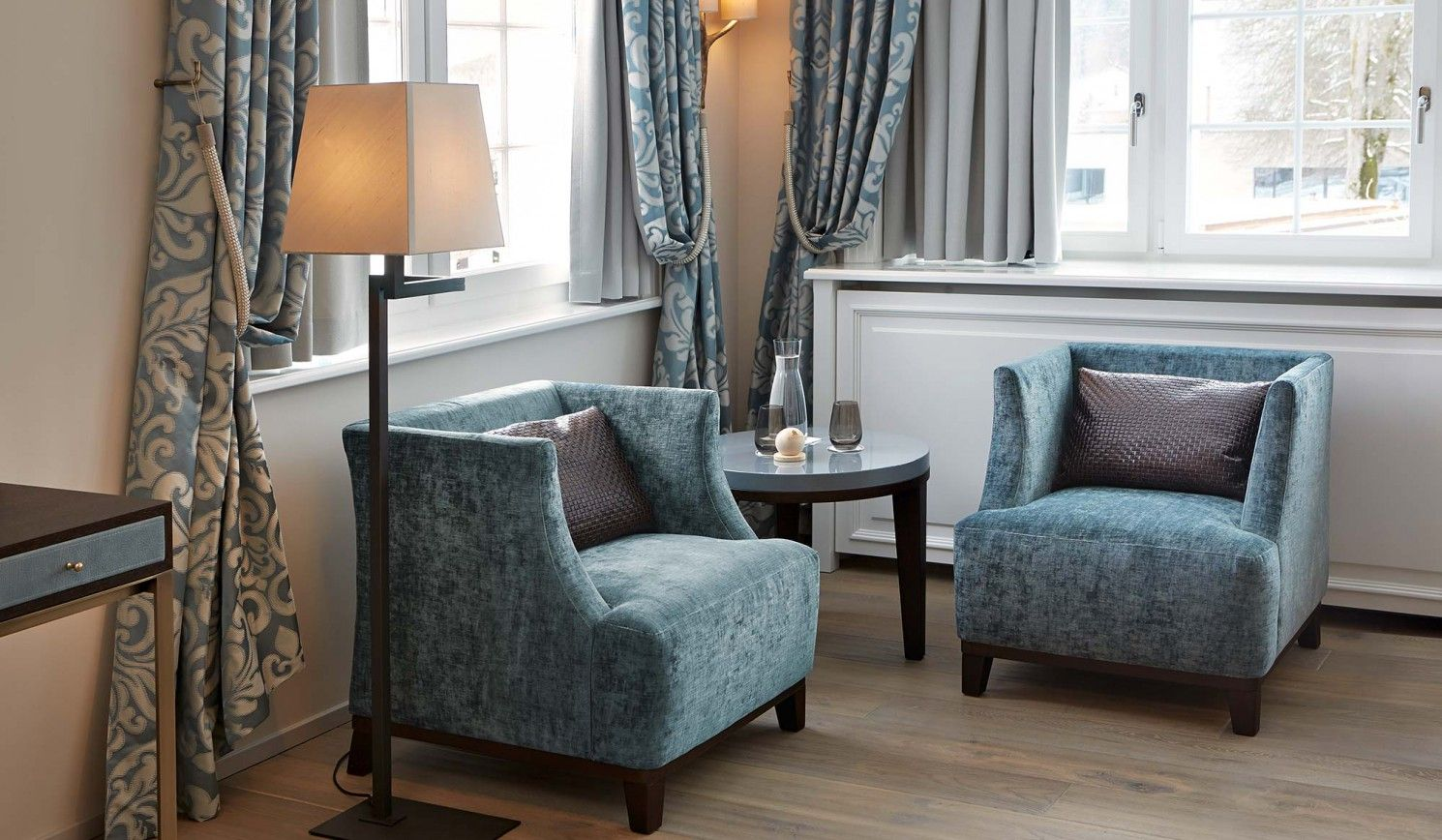 The Zur Fernsicht Hotel And Restaurant Heiden Switzerland Furniture Contract Project By