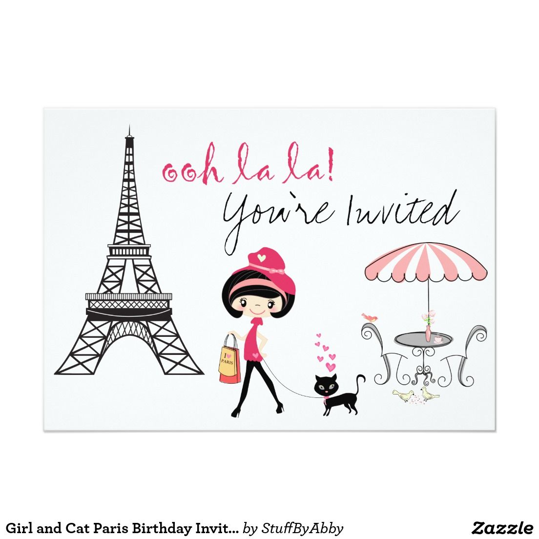 Parisian Invitations