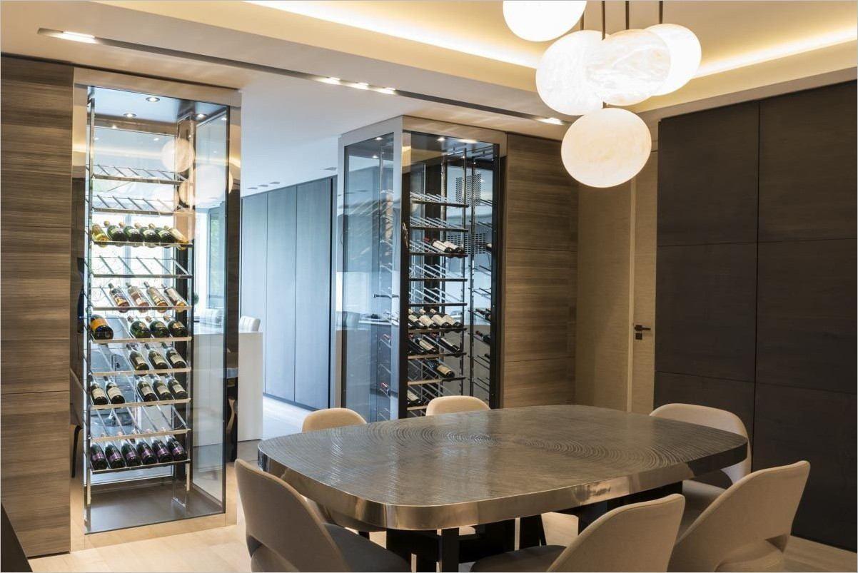 100 Fantastique Suggestions Cave A Vin Dans Salle A Manger