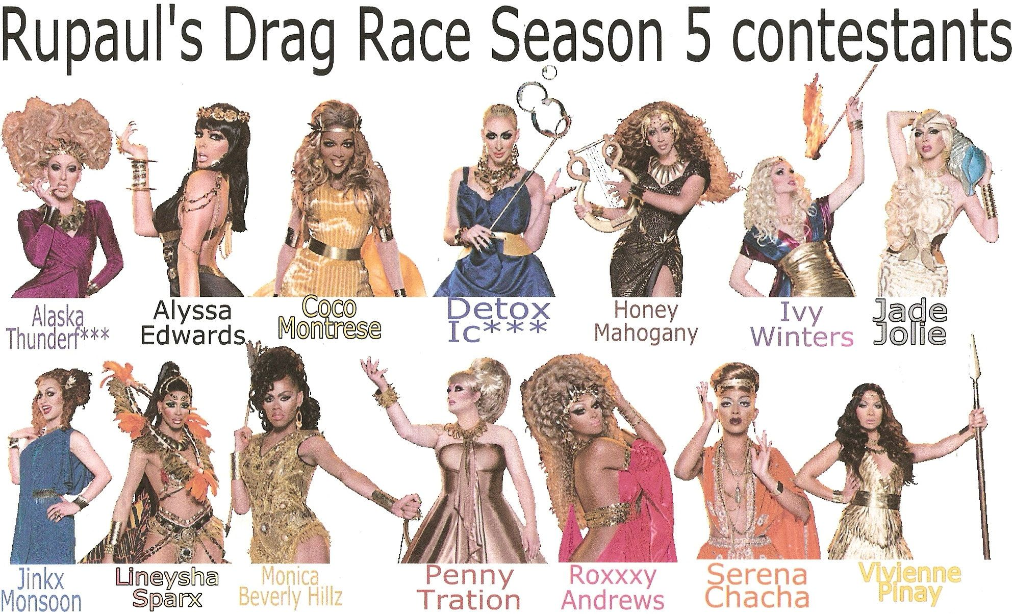 Sneak Peek At The Contestants For Season 5 Of Rupauls -8592