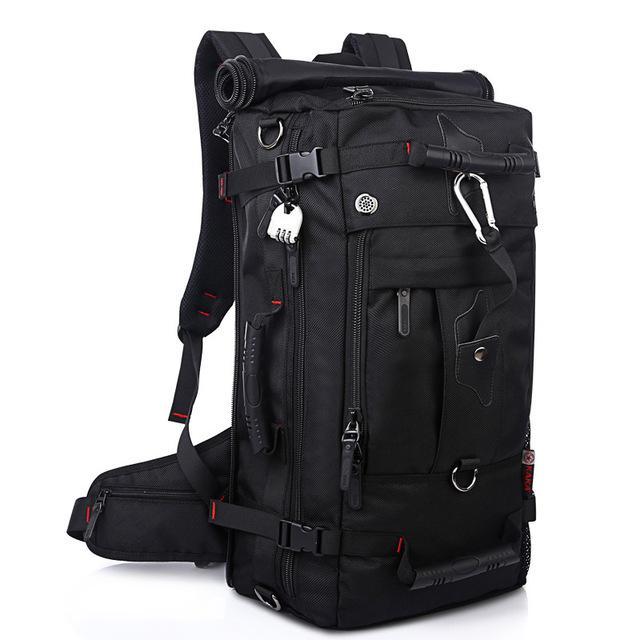 40L Large Capacity Outdoor Tactical Military Backpack Hiking Bag Travel Rucksack