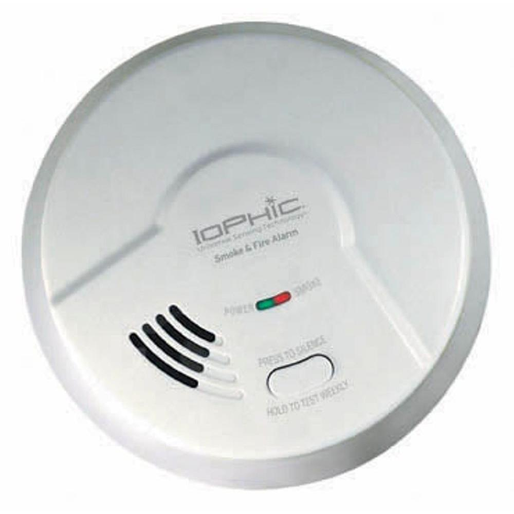 Universal Security Instruments Battery Powered Smoke And Fire Alarm Gas Detector Home Depot