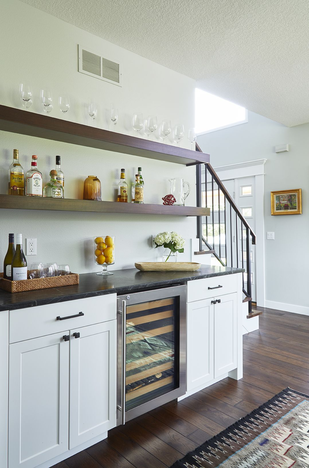 Merging Styles - Clean Lined Meets Rustic in This Grimes, Iowa Remodel images