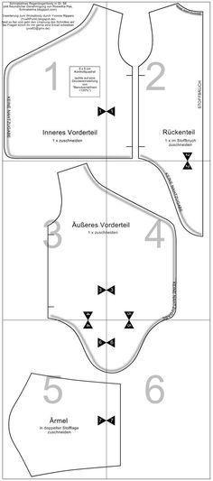 FREE: Wraparound onesie pattern (Gr. 56/0-3m) and tutorial based off ...