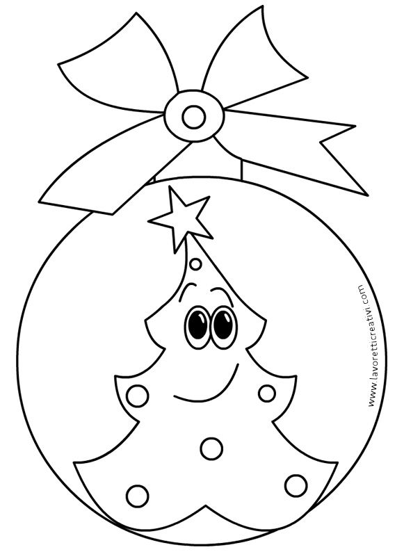 Altri Lavorettipalline Di Natale Sagome Per Lavorettisagome