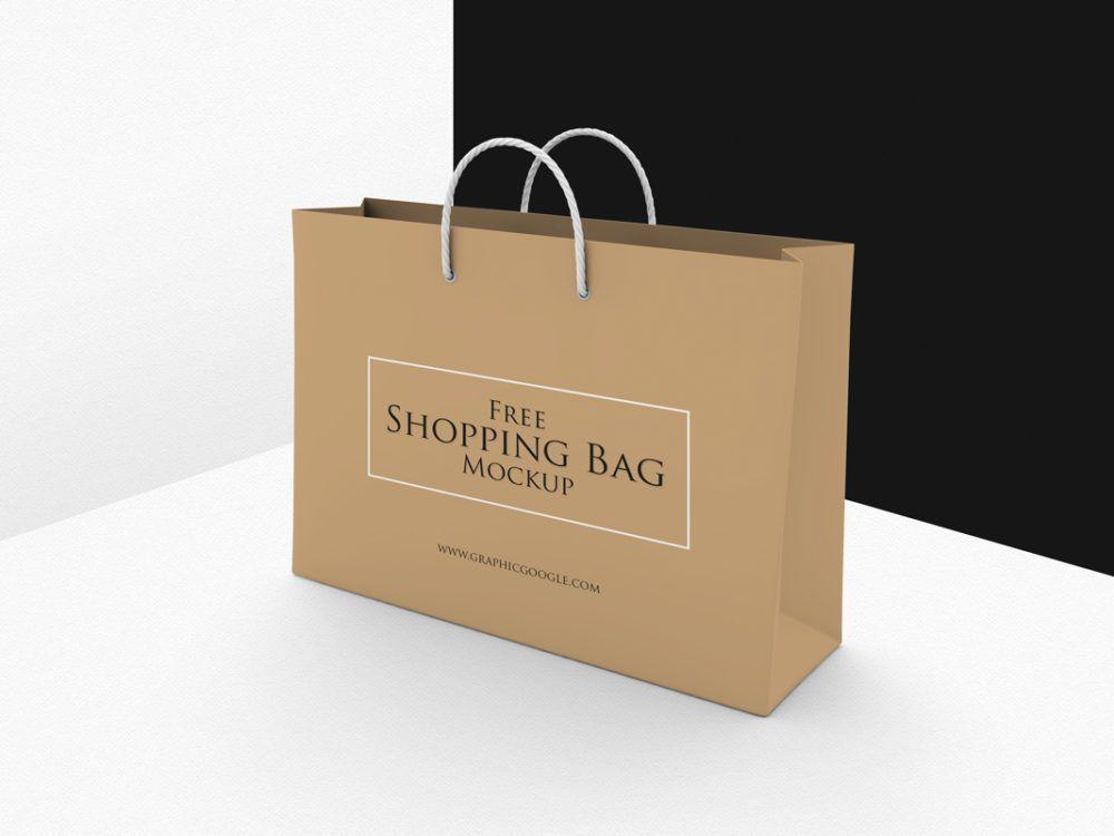 Download Shopping Bag Psd Mockup Free Template Mockup Free Psd Bag Mockup Free Mockup