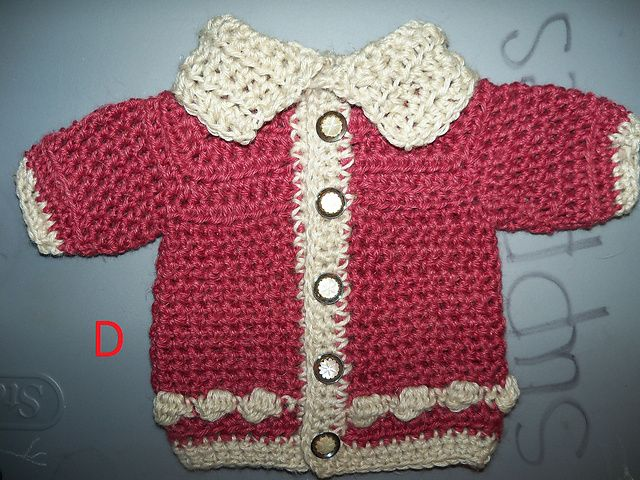 Craft Passions baby cardigan pattern | baby | Pinterest