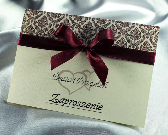 Niezwykłe Kolorowe Zaproszenia ślubne Perskoperta 4983187147
