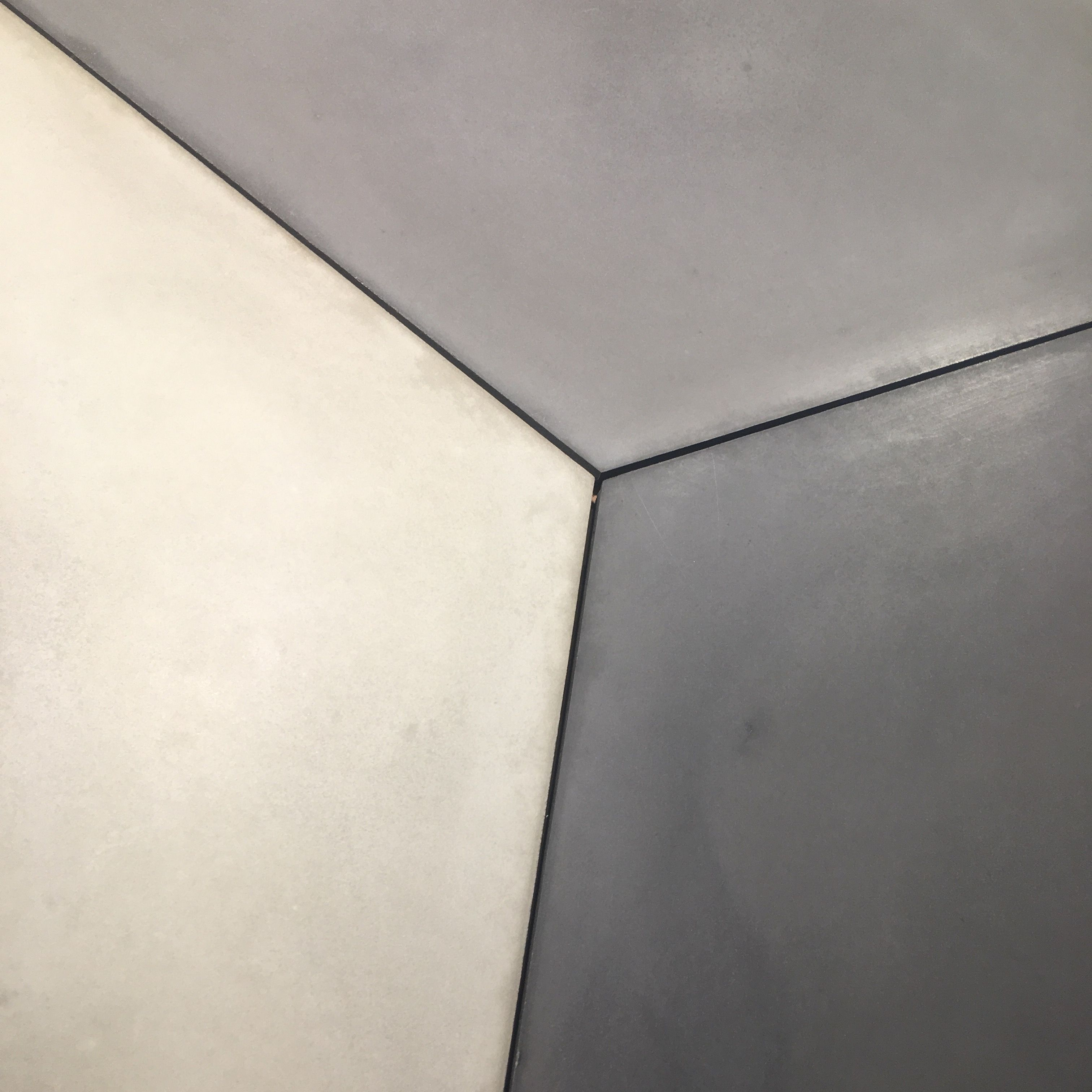 Onix concrete tiles are beautifully smooth and exceptionally kite is a large format concrete diamond shaped tile dailygadgetfo Choice Image