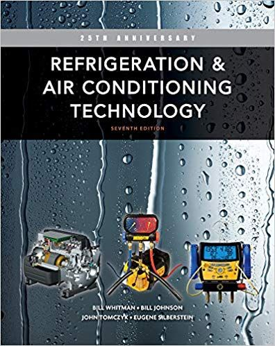 Refrigeration And Air Conditioning Technology 7th Edition By Bill