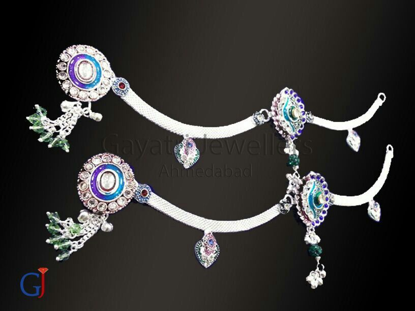 Silver #brooch #payal , #anklet, silver #traditional #jewellery ...