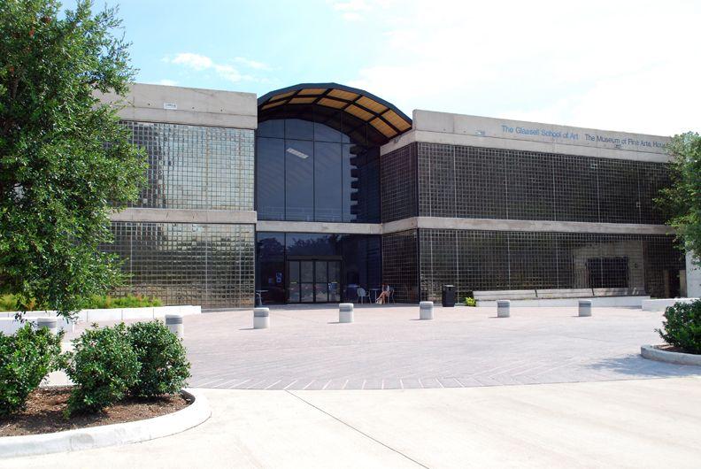 glassell school of art 1979 architect s i morris 5101 montrose