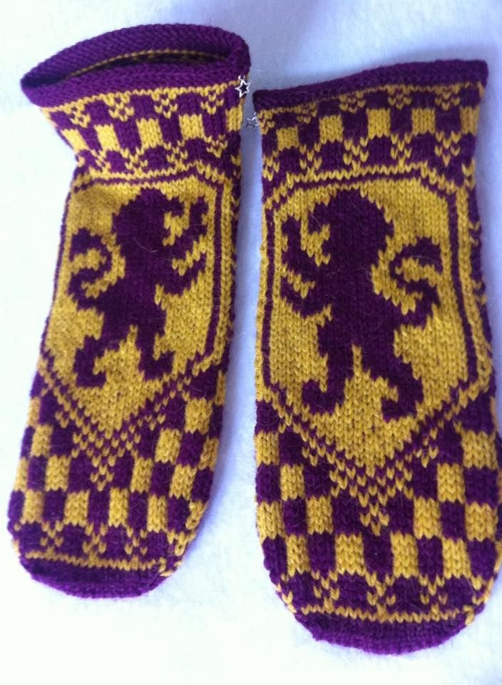 Harry Potter Knitted slippers after this pattern: https://quietish ...