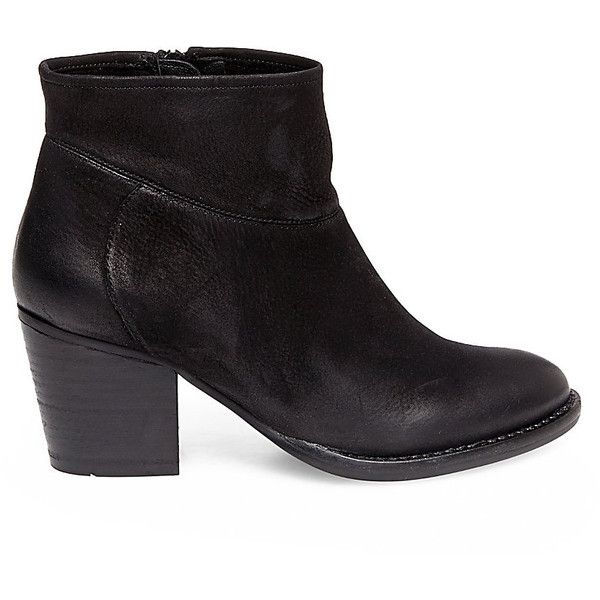 040f1e2cfcf0 Steve Madden Women's Raylene Booties ($140) ❤ liked on Polyvore featuring  shoes, boots, ankle booties, ankle boots, rust suede, stacked heel booties,  ...