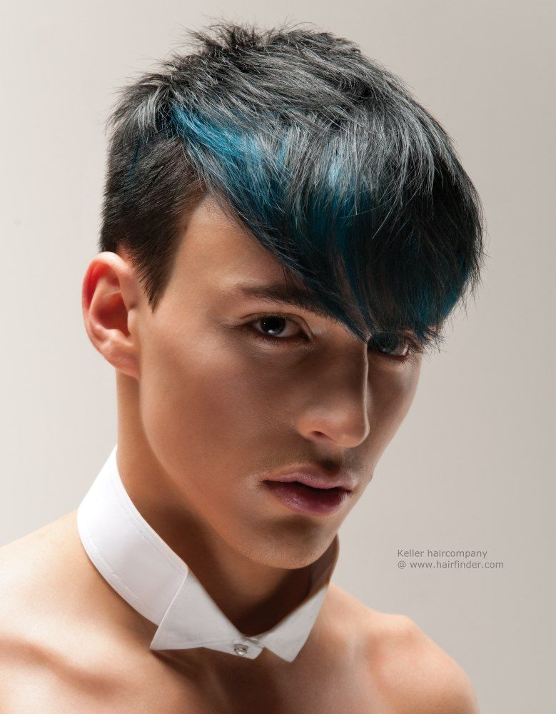 Men With Hair Dye Google Search Boys Blue Hair Boys Dyed Hair Boys Colored Hair