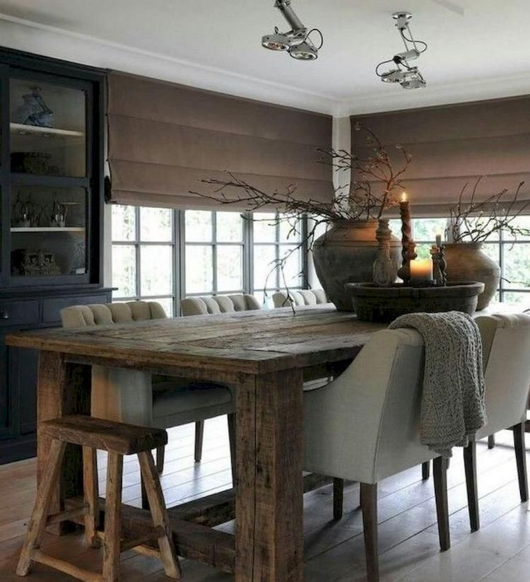 70 Amazing Modern Farmhouse Dining Room Decor Ideas Farmhouse