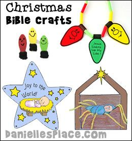 Christmas crafts for sunday school from for Christmas bible crafts for kids