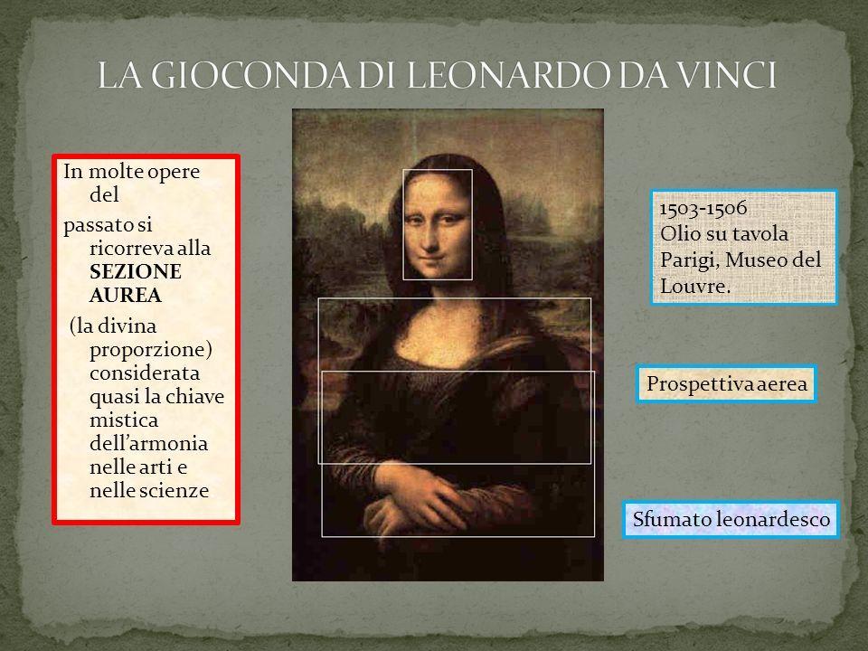 Pin Di Alessandra De Martini Su Sezione Aurea La Gioconda Arti Mistico