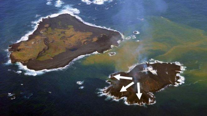 Sail-World.com : Meet Nijima, Pacific's newest island - but sailors warning, stay away