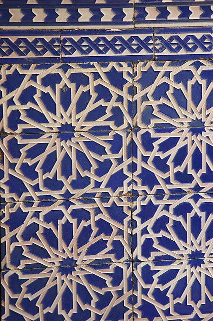 Bleu tiles bleu carreaux carrelage pinterest for Carrelage oriental