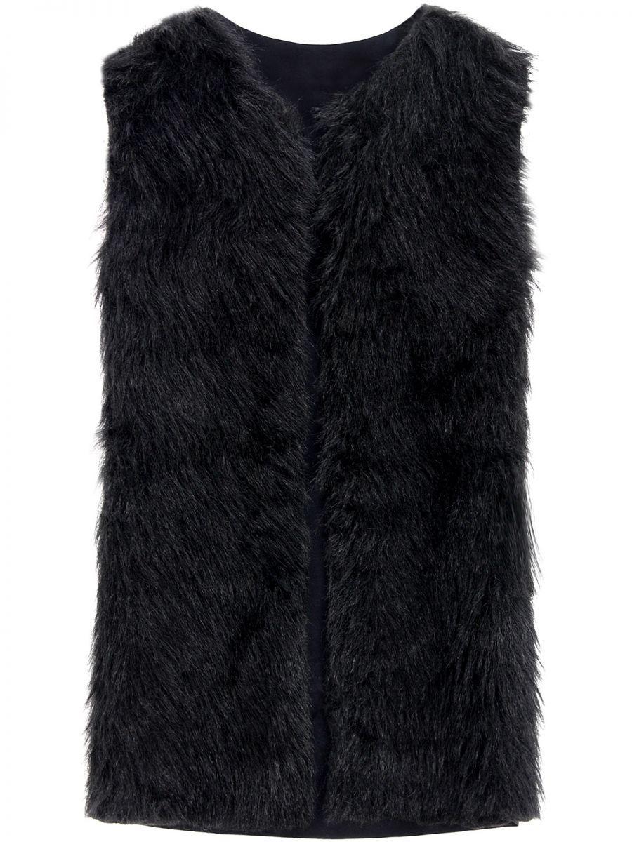 Futrzana Kamizelka S M 7055682120 Oficjalne Archiwum Allegro Coat Fashion Fur Coat