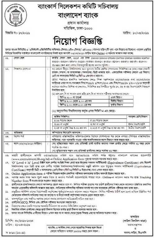 Agrani Bank Senior Officer Ict Job Circular   Bd Jobs