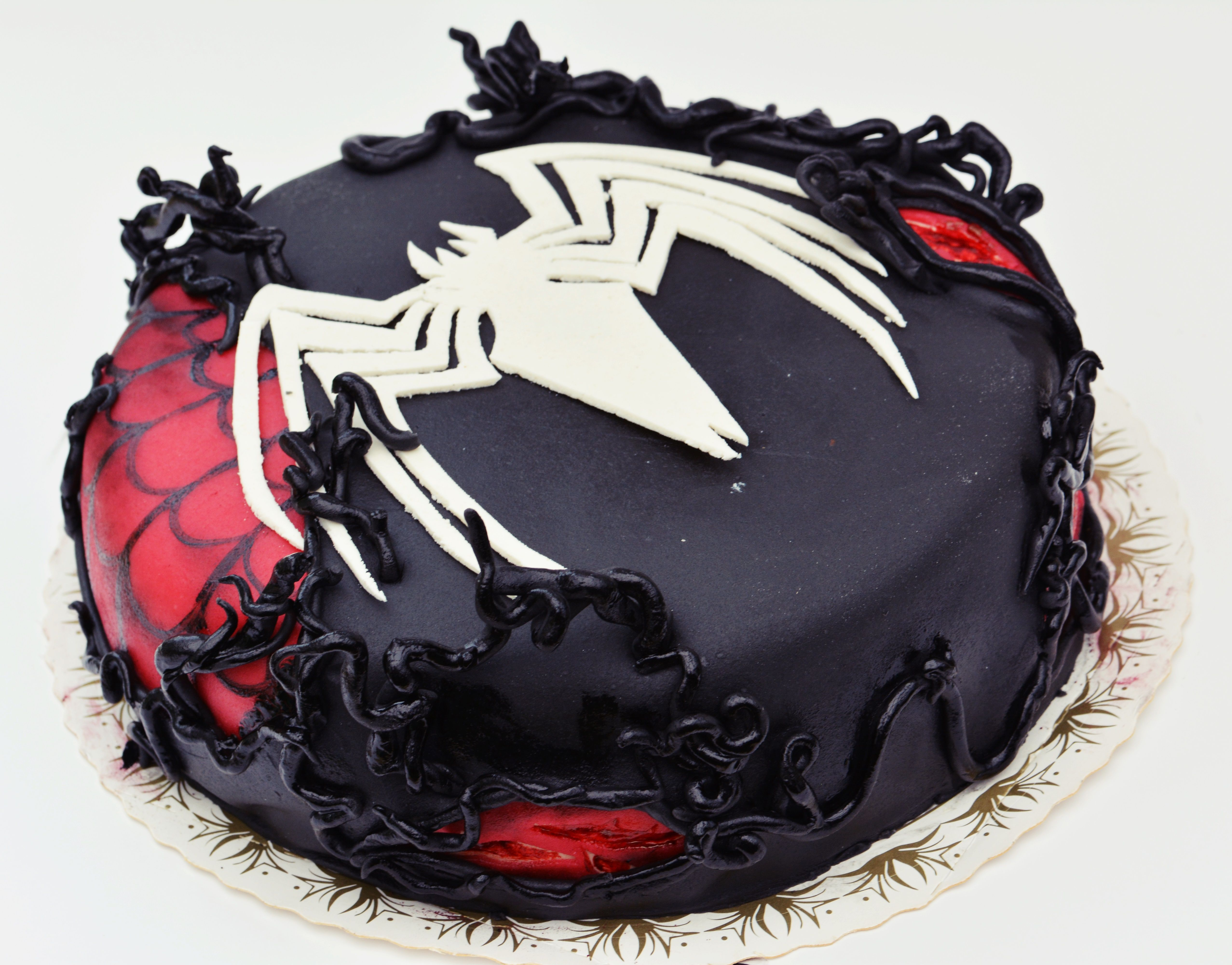 Black spiderman cakes - photo#42