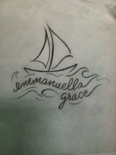 682edf1e82208 sailboat tattoo drawing - Google Search   Make Your Mark   Tattoo ...