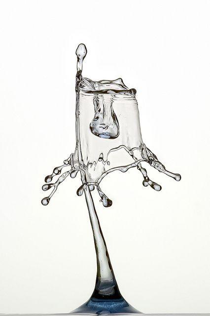 30 Examples Of Liquid Art Gouttes Deau Pinterest Nature