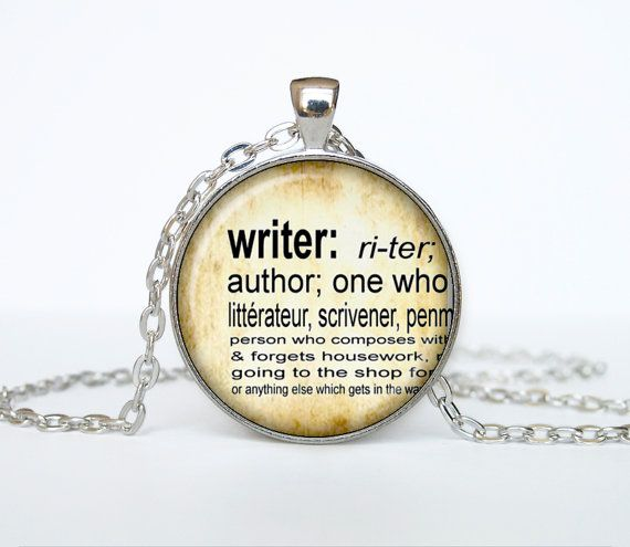 Writer necklace vintage dictionary definition of writer word pendant writer necklace vintage dictionary definition of writer word pendant word writer jewelry on etsy 1295 mozeypictures Gallery