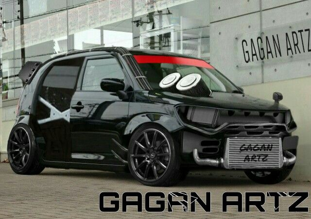 Suzuki Ignis Virtual Tuning GAGAN ARTZ