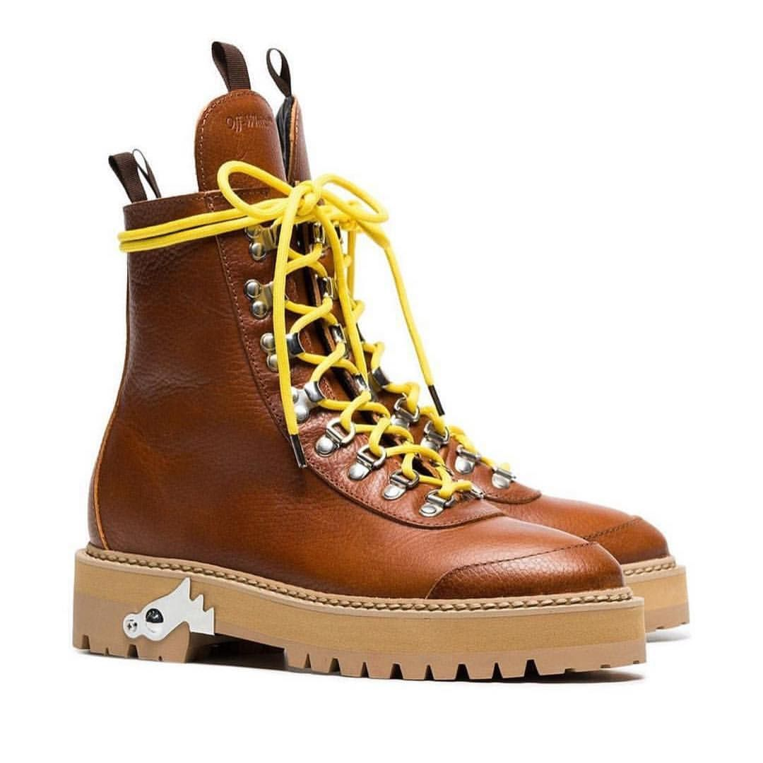 """83c651fe36cb Off-White™ on Instagram  """"Off-White™ """"ice pick"""" winter boots ..."""