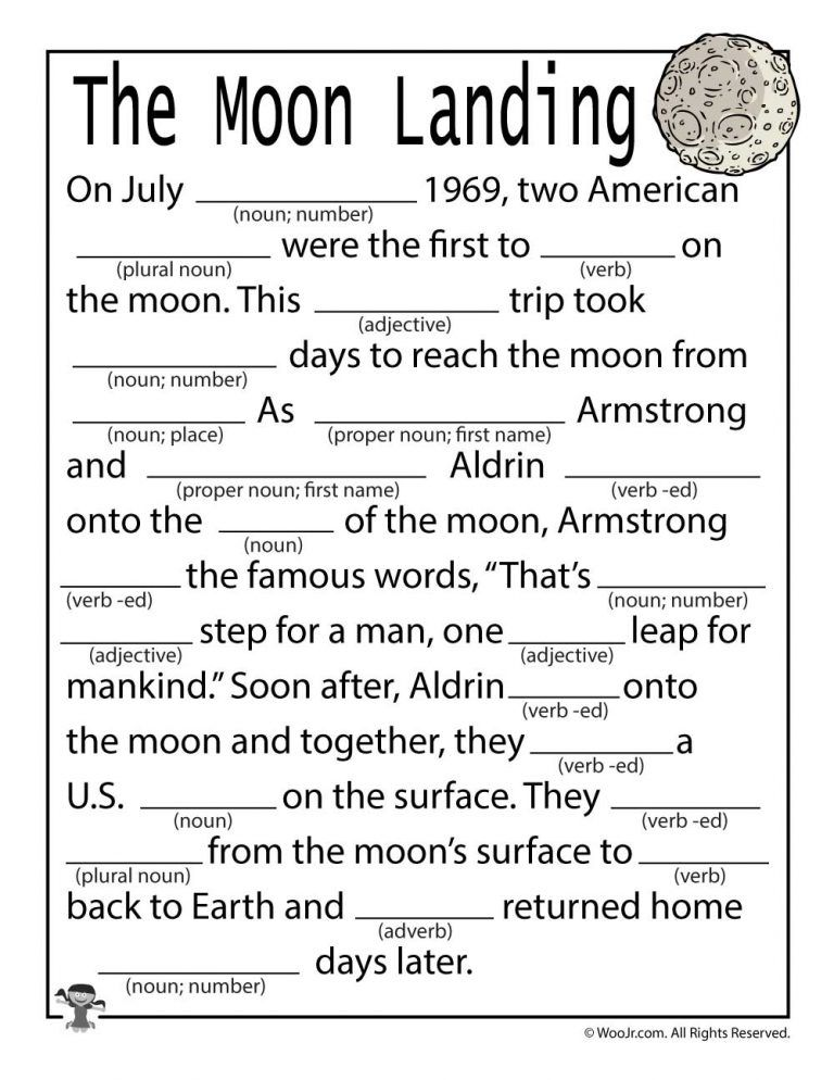 Photo of The First Moon Landing Lesson Plan & Activities for Kids   Woo! Jr. Kids Activities