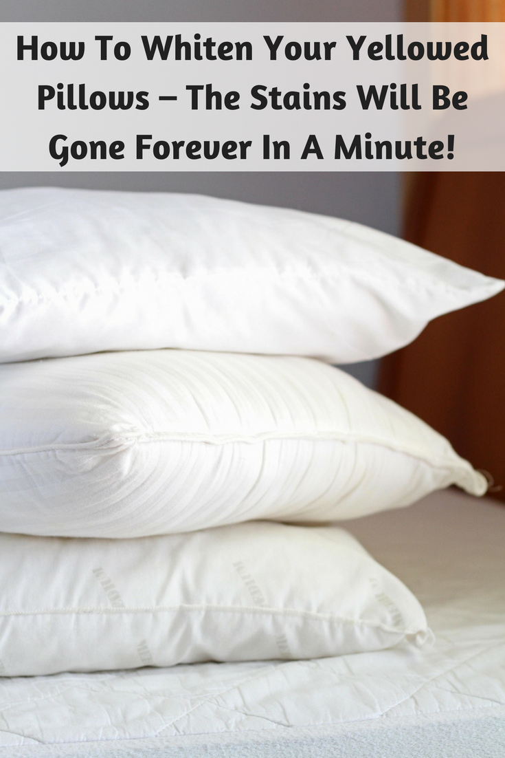 The pillow is one of the things we keep close to our bodies for a