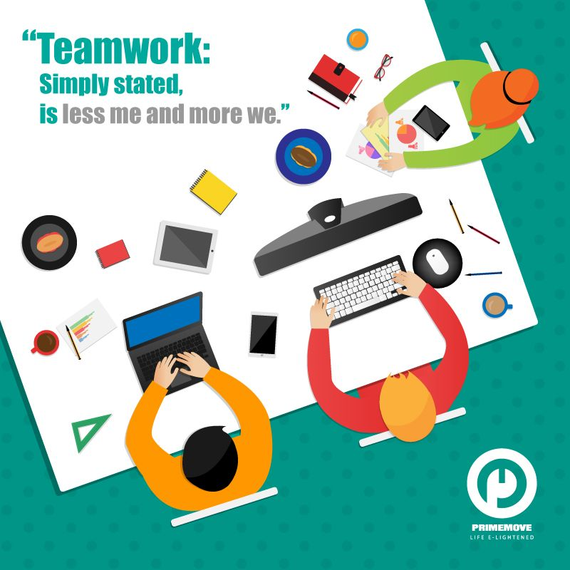 """Teamwork Simply stated is """"Less Me and More We""""..!! http"""