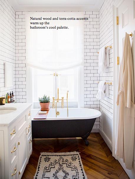 Bathroom Renovations Kingston Ontario: LOVE The Tub And Herringbone