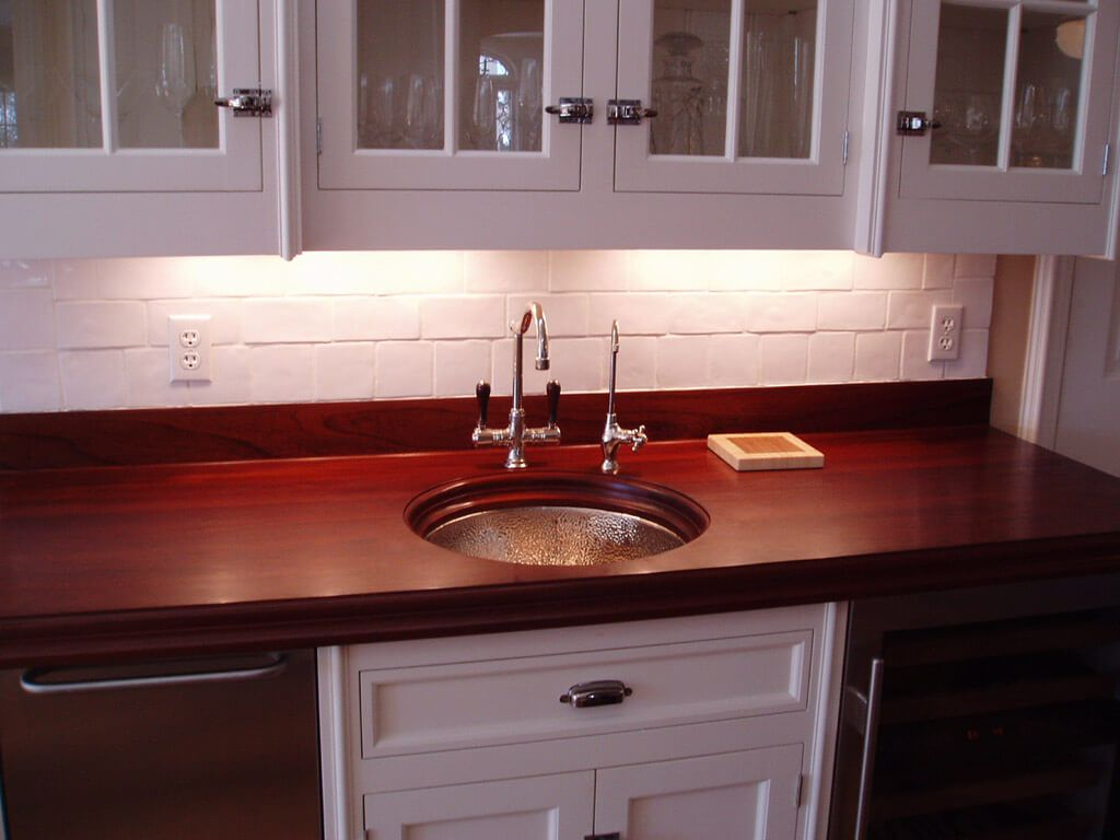 Designed by Mick De Giulio for House Beautiful Kitchen of