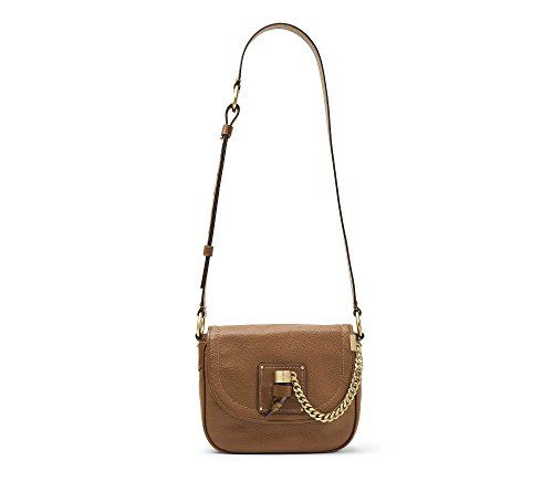 ddee34e008a2 MICHAEL Michael Kors James Medium Leather Saddle Bag