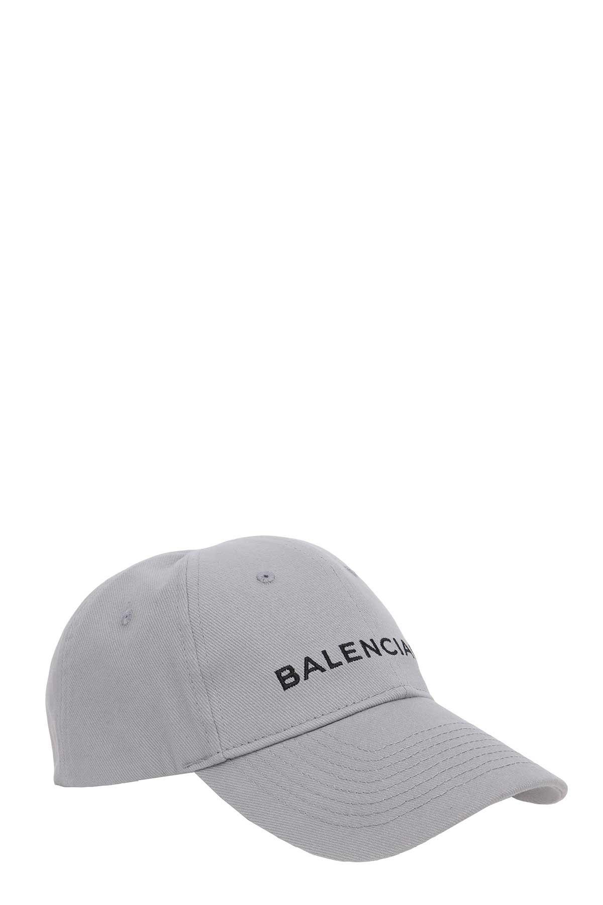 BALENCIAGA GREY COTTON HAT.  balenciaga    c8bed1fa3b8
