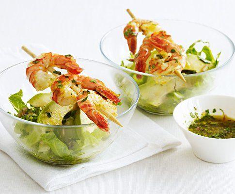 Crevetten-Avocado-Cocktail | fisch | Pinterest