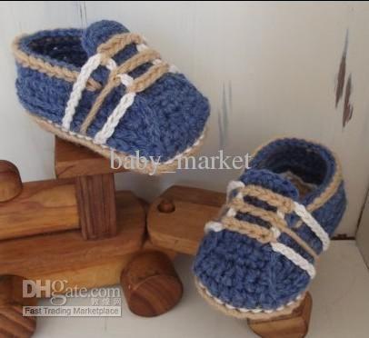 Wholesale Patrones de ganchillo - Niños zapatos de Bebé Botines ...