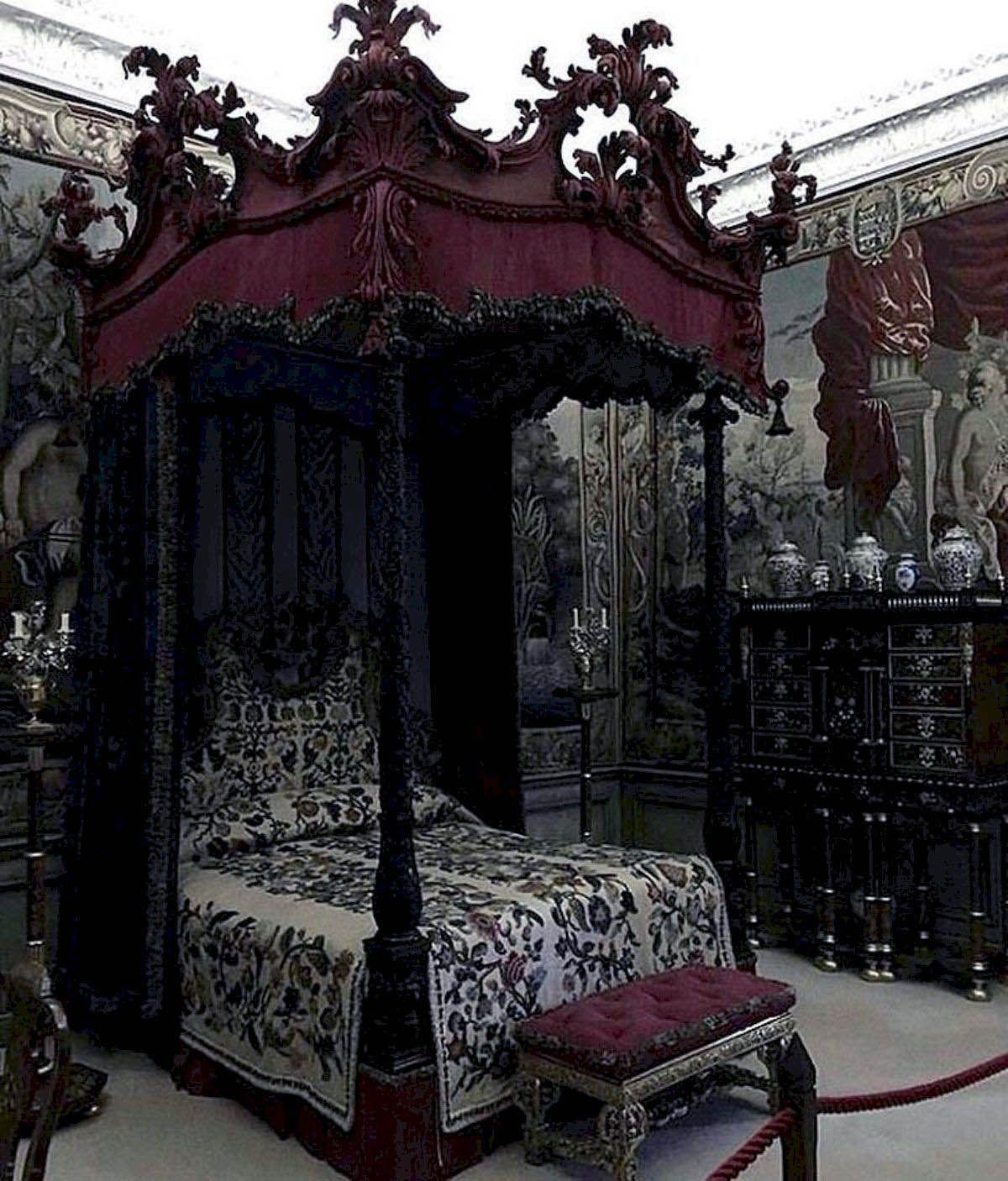 Fantastic Gothic Pine Bedroom Furniture For 2019 Gothic Bedroom Gothic Bedroom Furniture Gothic Decor Bedroom