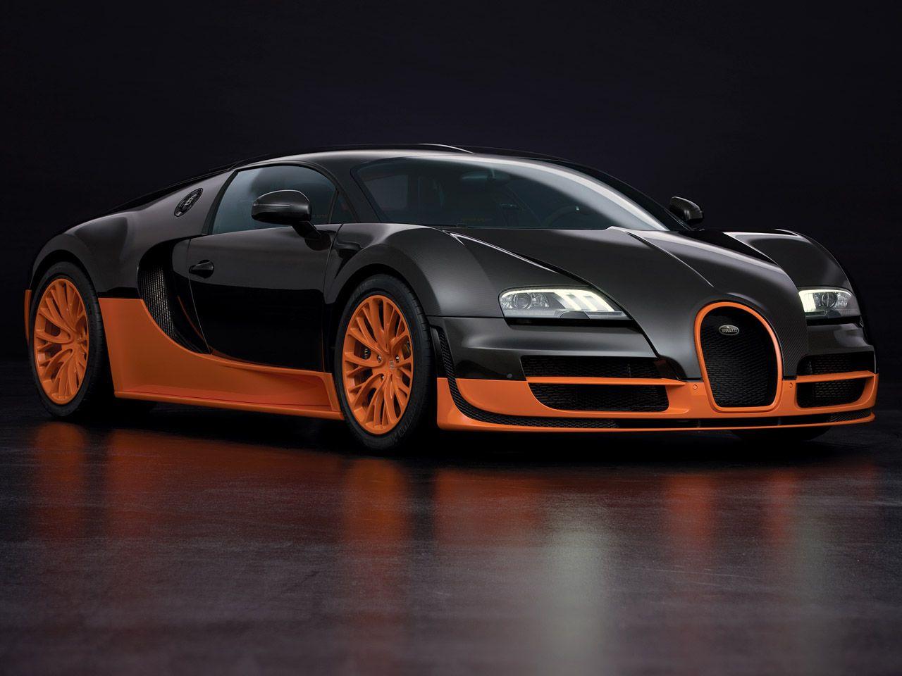 Bugatti Veyron Supersport Sports Car Wallpaper Bugatti Cars