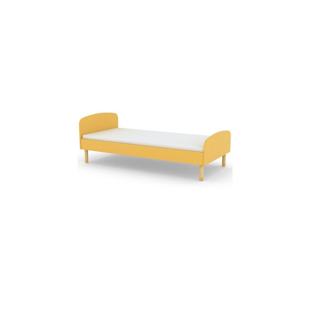 Bezaubernd Flexa White Einzelbett Referenz Von Kids Single Bed In Yellow