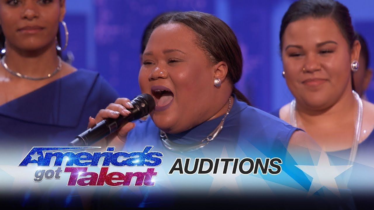 Americas got talent 2017 young magician - Danell Daymon Greater Works Choir Group Brings The House Down America S Got Talent