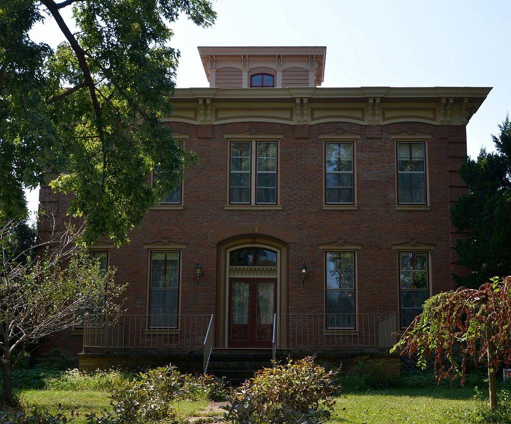 Illinois fulton county vermont - Joab Mershon House In Fulton County Illinois