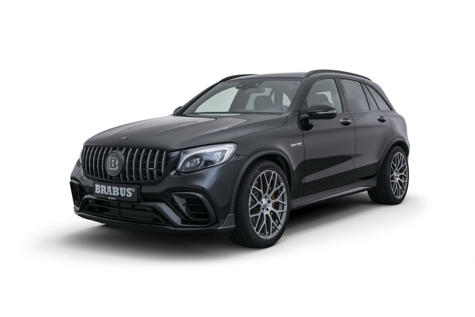 Brabus 600 Mercedes Amg Glc 63 S Packs 600 Hp 441 Kw Mercedes