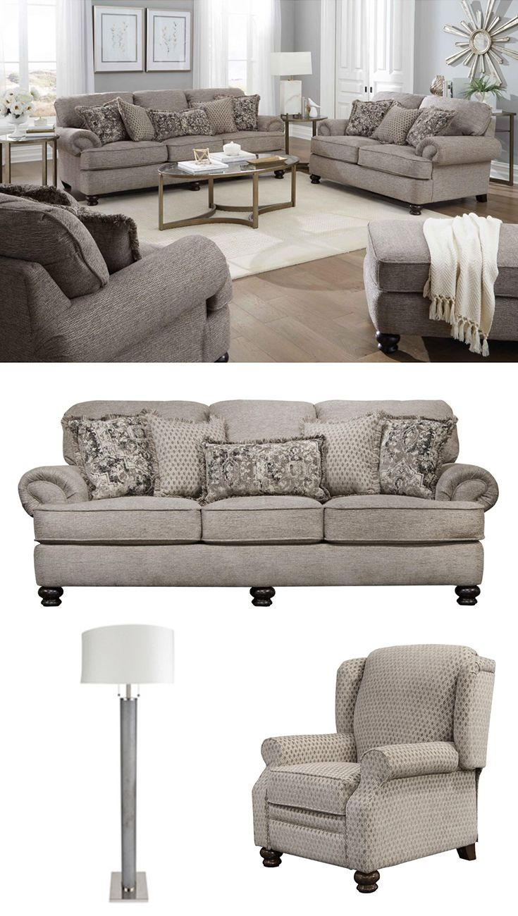 Rooms By Design Furniture Store: The Traditional Freemont Group Features A Large Family Or
