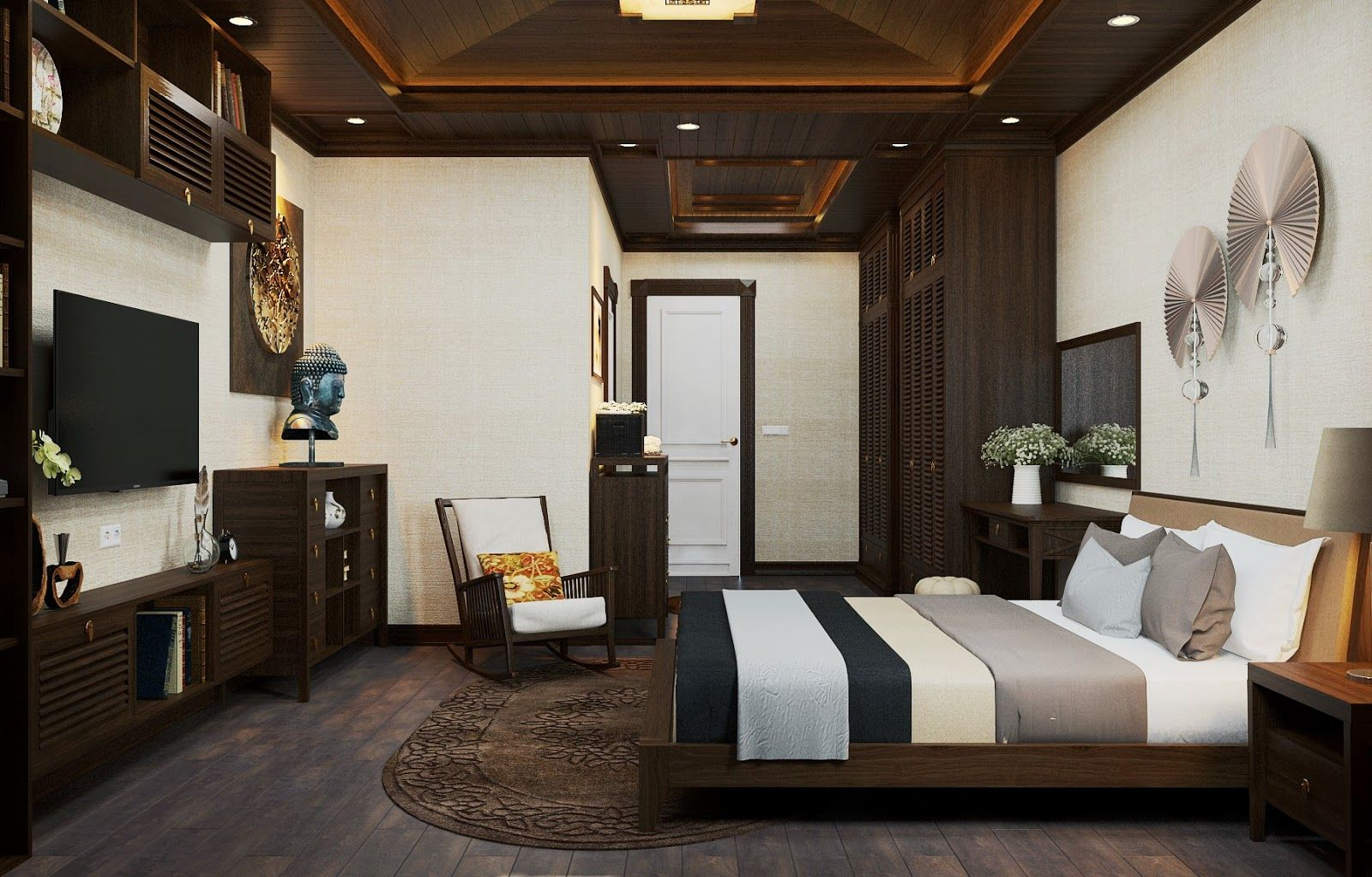 3D Interior Scenes File 3dsmax Model Bedroom 41 | Interior ... on Model Bedroom Interior Design  id=18562