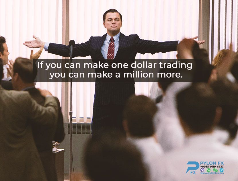 If you can make one dollar trading you can make a million